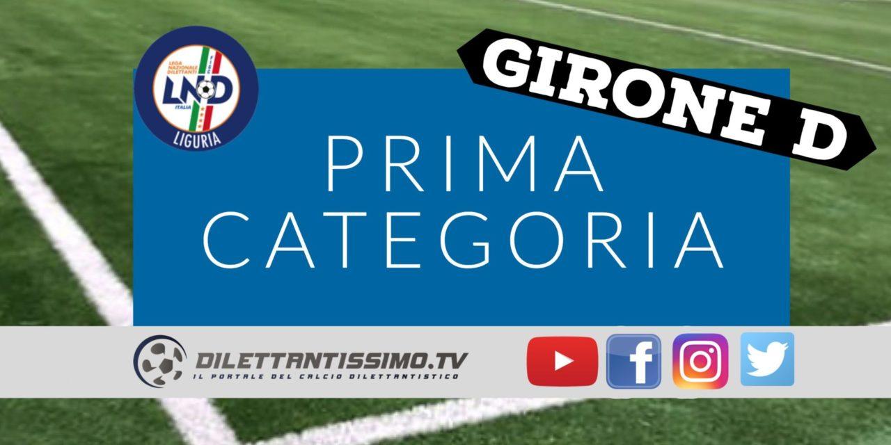 DIRETTA LIVE – PRIMA CATEGORIA D, 14ª GIORNATA