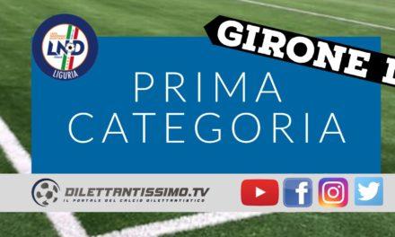 DIRETTA LIVE – PRIMA CATEGORIA D, 16ª GIORNATA