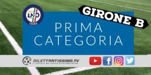 PRIMA CATEGORIA b 4ª giornata