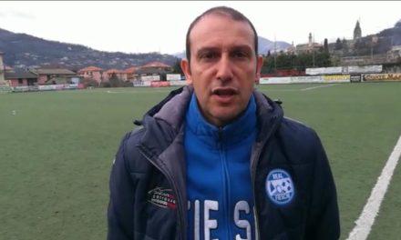 Intervista post partita, Mister Paglia Real Fieschi