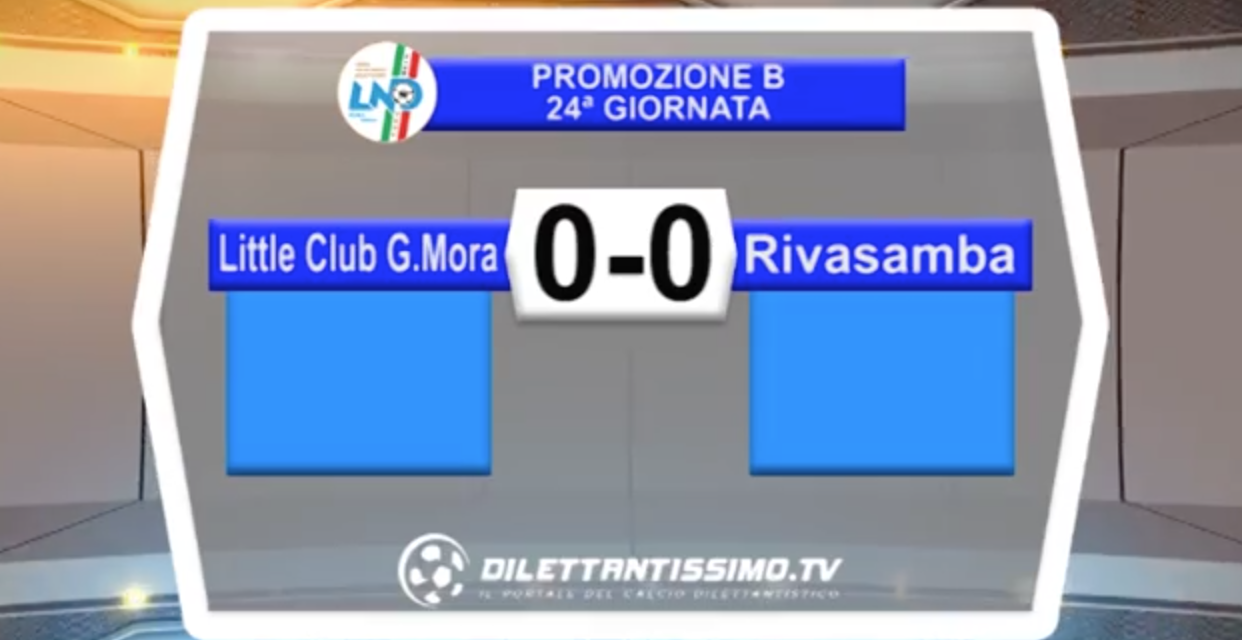 VIDEO – Promo B: il servizio di LITTLE CLUB-RIVASAMBA 0-0