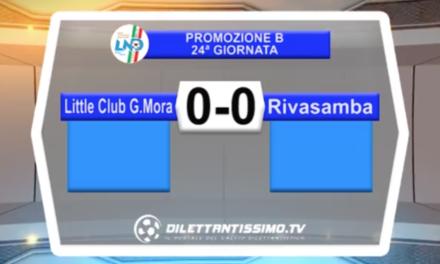 VIDEO – Promo B: il servizio di LITTLE CLUB-RIVASAMBA 0-0