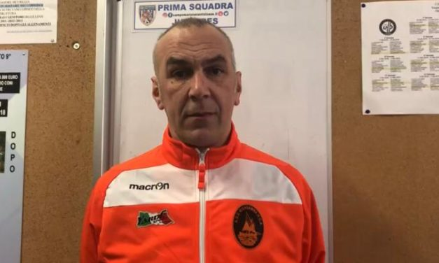 Intervista post partita Mister Dagnino Rivasamba