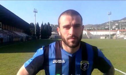 Intervista post partita Fabio Laera Imperia