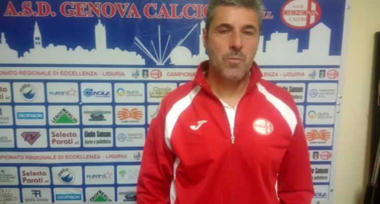 Intervista post partita mister Balboni Genova Calcio