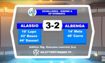 VIDEO: ALASSIO – ALBENGA 3-2
