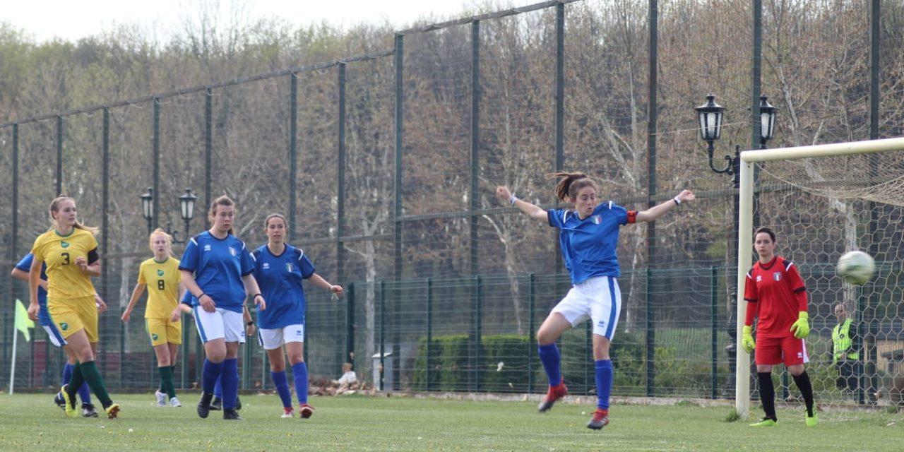 Femminile: ITALIA – CROAZIA 5-0