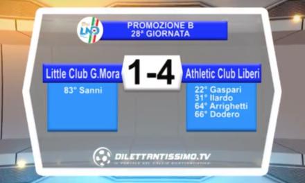 VIDEO – Little Club-Athletic Club 1-4: il servizio completo