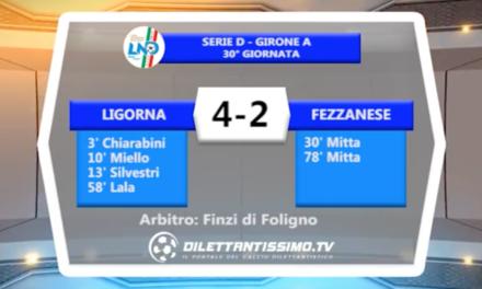 VIDEO – Ligorna-Fezzanese 4-2: il servizio completo e le interviste