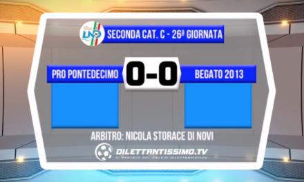 VIDEO – Pro Pontedecimo – Begato 0-0: il servizio del match e le interviste