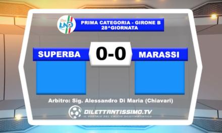 VIDEO – Superba-Marassi 0-0: il servizio del match e le interviste
