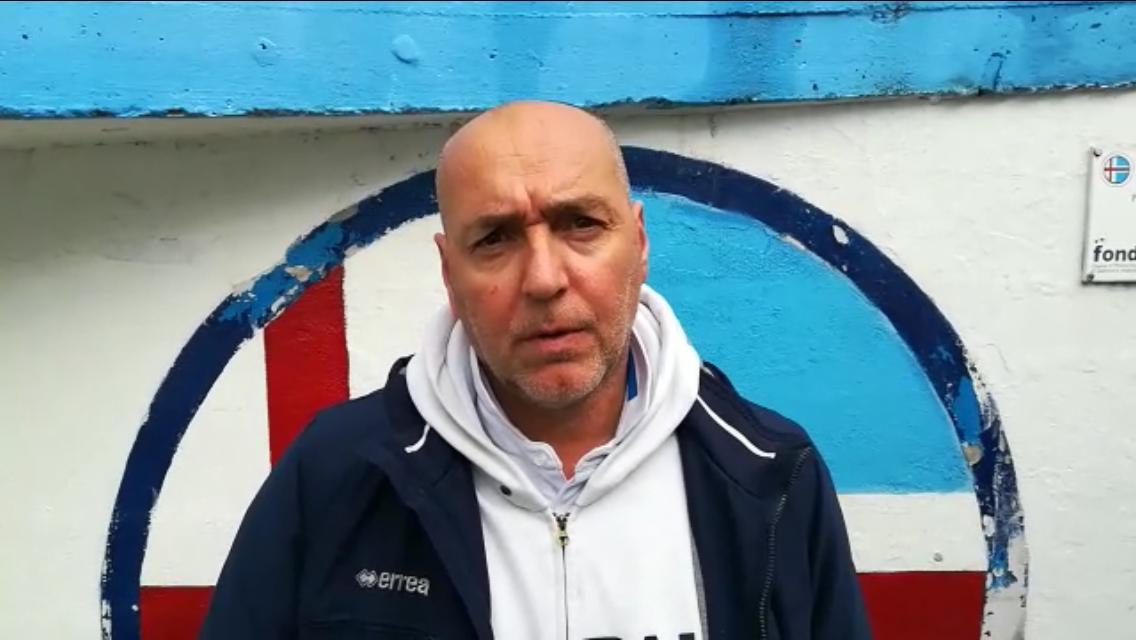 Intervista post partita Luca Monforte Mister Ligorna