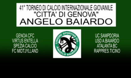 BAIARDO: TORNEO INTERNAZIONALE 41^ EDIZIONE