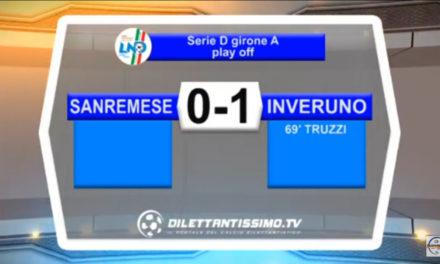 VIDEO: SANREMESE-INVERUNO 0-1 Highlights
