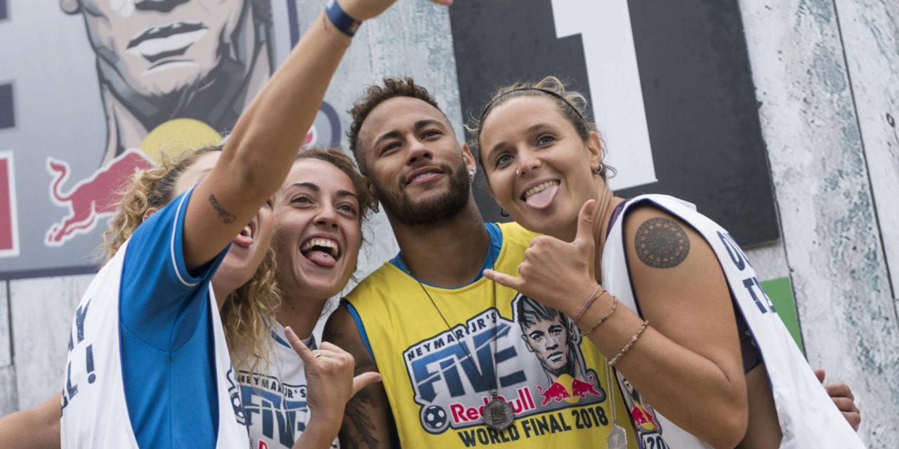 Red Bull Neymar Jr's Five: arriva a Genova l'evento che regala il sogno di incontrare la stella brasiliana