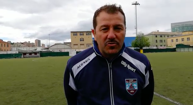 Intervista post partita Mister Pecoraro Via Dell'Acciaio