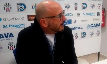 Intervista post partita Presidente Cavaliere Savona