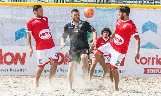 La Genova Beach Soccer si rialza subito: 5-3 a No Name Nettuno e ora è caccia aperta al 9° posto