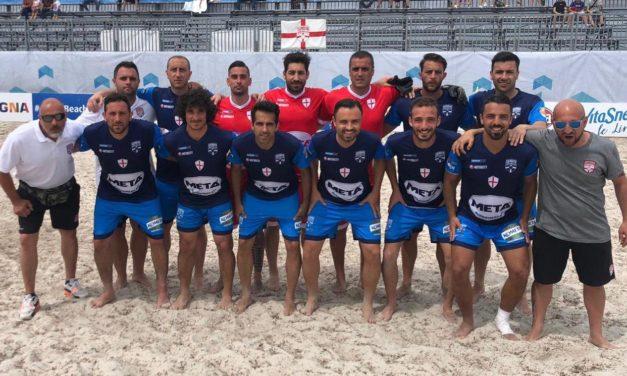 Genova Beach Soccer da urlo: fra le prime 10 della Coppa Italia
