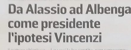 ALBENGA: smentiamo categoricamente questa notizia!!!