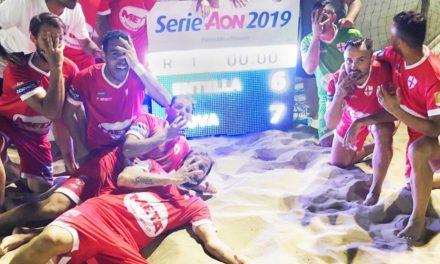 Genova Beach Soccer, la prima tappa di Serie A va in archivio