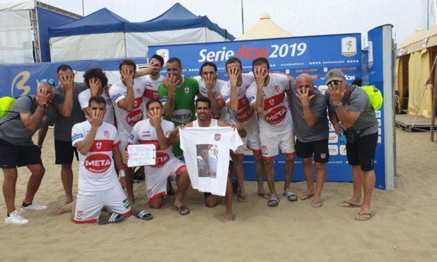 La Genova Beach Soccer si riscatta subito: 5-3 al Licata e una dedica tutta speciale