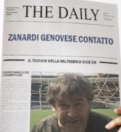 GENOVESE BOCCADASSE: Nuovo Mister Paolo ZANARDI. TUTTE LE MOVITA