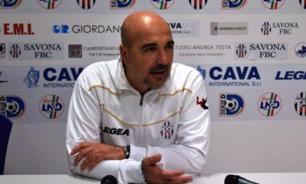 SAVONA: Mister SICILIANO idea per il prossimo campionato