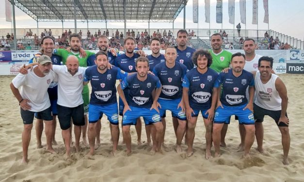 Beach Soccer, Genova schianta Bari 5-2: la salvezza è in cassaforte