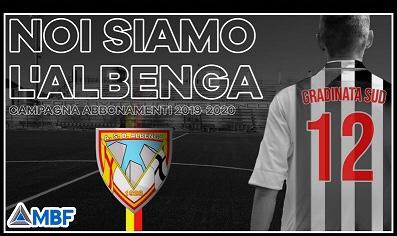 """Noi siamo l'Albenga"""": al via la campagna abbonamenti per la stagione 2019-2020"""