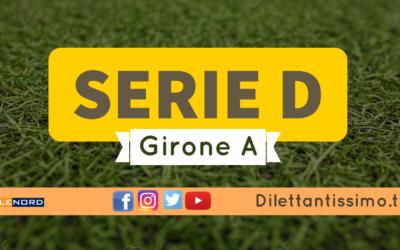 DIRETTA LIVE – SERIE D GIRONE A, 15ª GIORNATA: RISULTATI E CLASSIFICA