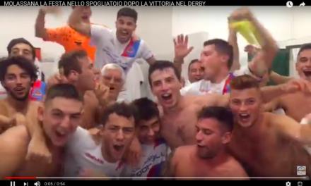 MOLASSANA: festeggia la vittoria del derby