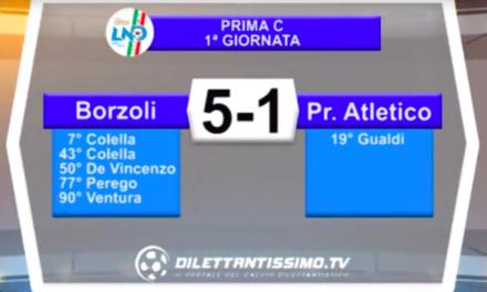 BORZOLI – PR. ATLETICO: Highlights