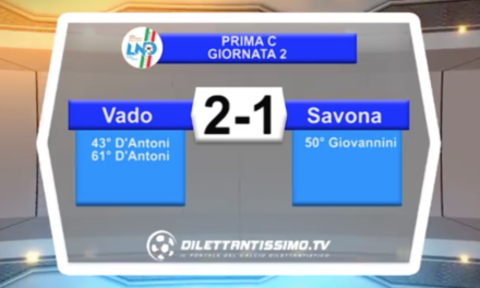 video – VADO-SAVONA: highlights