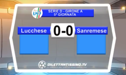 video – LUCCHESE-SANREMESE: Highlights