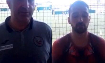 Intervista post partita: mister Pisani e Pelosi Superba