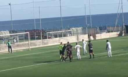 video – Seconda D: il calcio di rigore di Martini (Corniglianese)