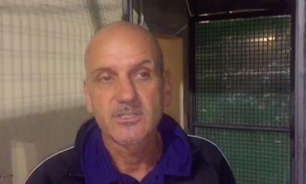 Intervista post partita: Mister Caverzan Ospedaletti