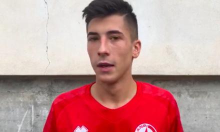 Intervista post partita: Vio Anpi Casassa autore del gol della vittoria