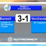 VIDEO – BORZOLI-VECCHIAUDACE 3-1: le immagini del match