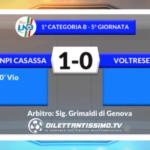 VIDEO – ANPI-VOLTRESE 1-0: le immagini del match + interviste