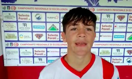 Intervista post partita: Piccarreta Genova Calcio