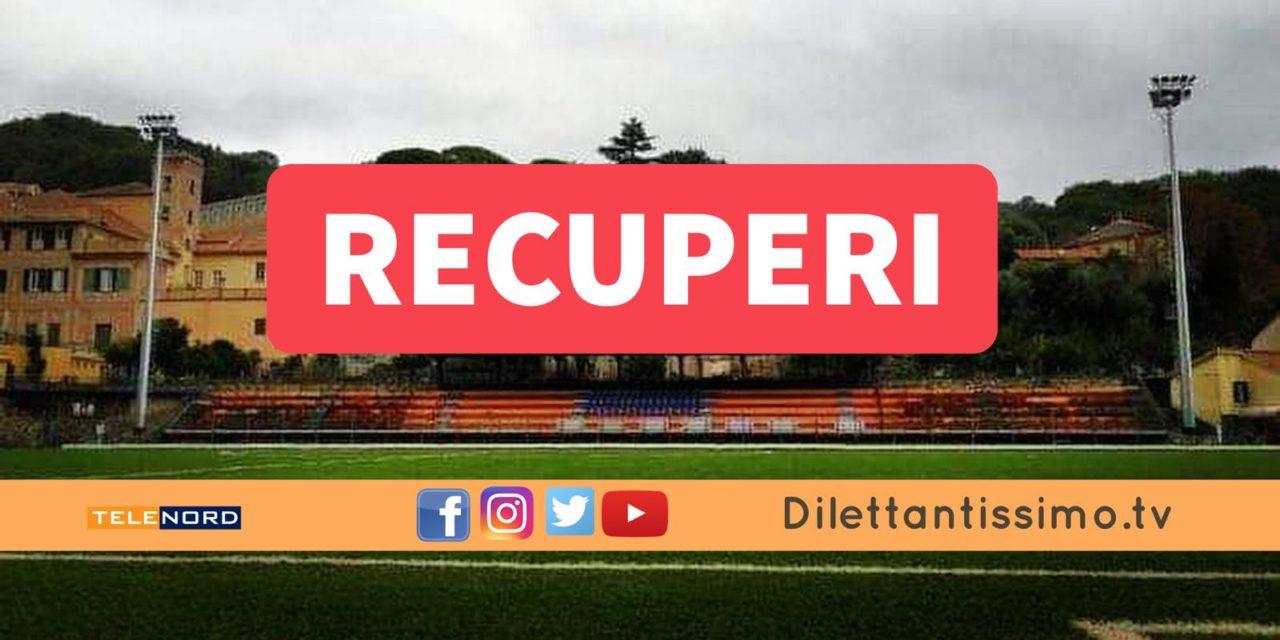 Promozione A, 11ª giornata: i recuperi CAMPOROSSO-DIANESE e CELLE-SERRA RICCO'