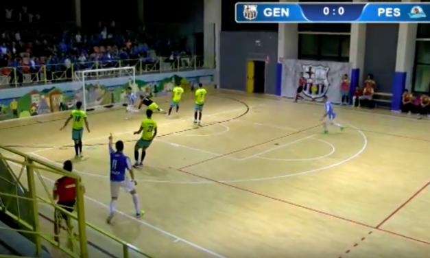 CDM GENOVA – PESCARA COLORMAX 1-4: Highlights della partita