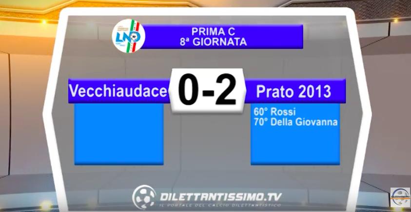 VECCHIAUDACE – PRATO 2013 0-2: Highlights della partita