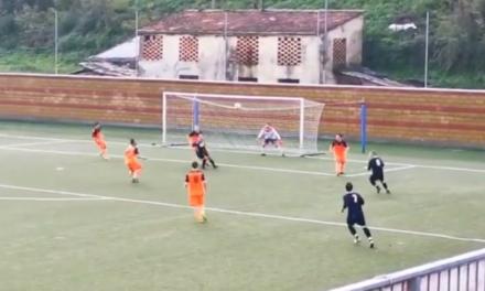 CARASCO-MERELLO 2-1: il gol annullato a Barbieri e la rete di Castronovo.