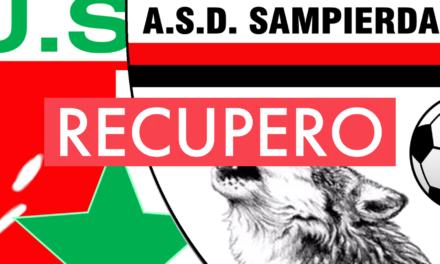 Prima Categoria C, 10ª giornata: il recupero CALVARESE-SAMPIERDARENESE