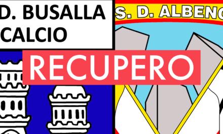 Eccellenza, 11ª giornata: il recupero BUSALLA-ALBENGA