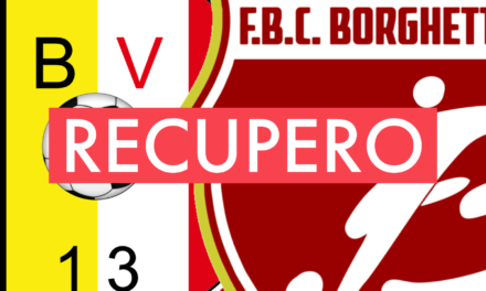 Prima Categoria A, 7ª giornata: il recupero BORGHETTO-DON BOSCO VALL.