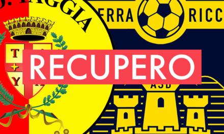 Promozione A: il recupero TAGGIA-SERRA RICCÒ